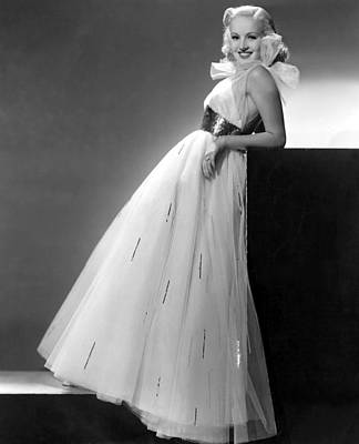Betty Grable, Paramount Pictures, 1937 Poster