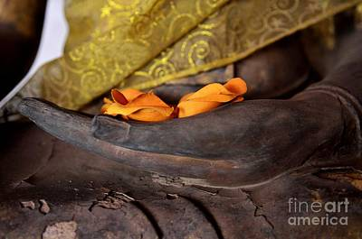 Bhumisparsa Mudra II In Colour Poster