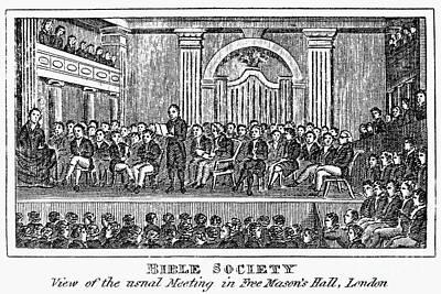 Bible Societies Poster by Granger