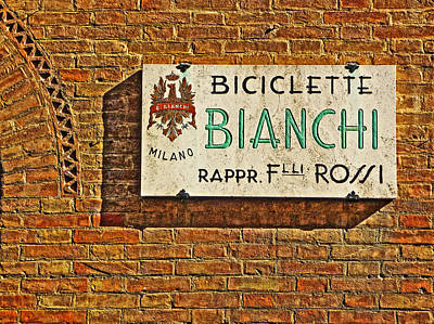 Biciclette Bianchi Poster