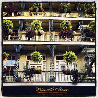 Bienville House Poster by Tammy Wetzel