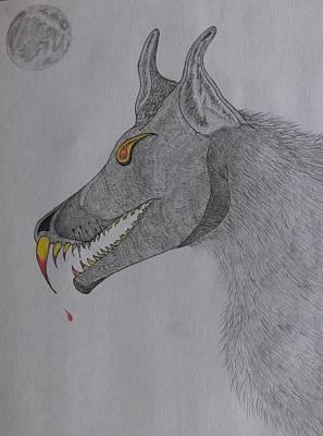 Big Bad Wolf Poster by Gerald Strine