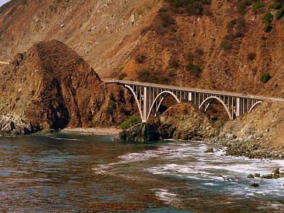 Big Creek Bridge Close Poster