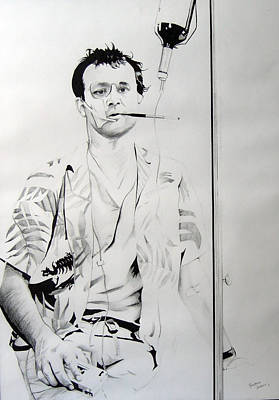 Bill Murray From The Movie 'where The Buffalo Roam' Poster