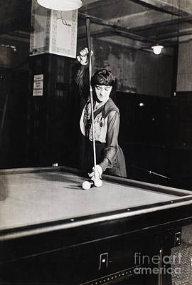 Billiard Champion, 1917 Poster