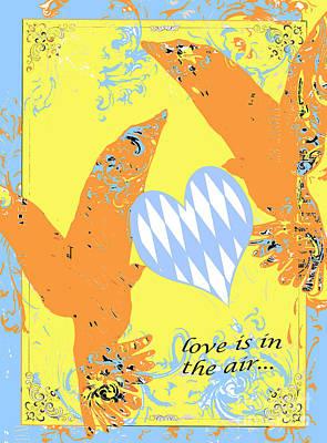 Birds Juvenile Art Poster by Anahi DeCanio