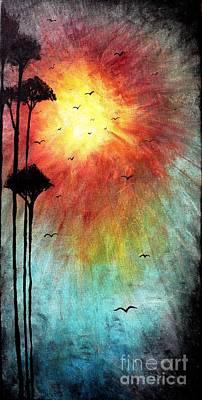 Birds Of The Sun Poster