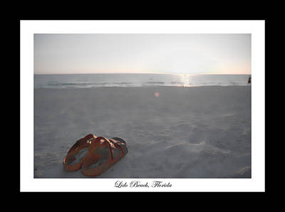 Birks On The Beach Poster
