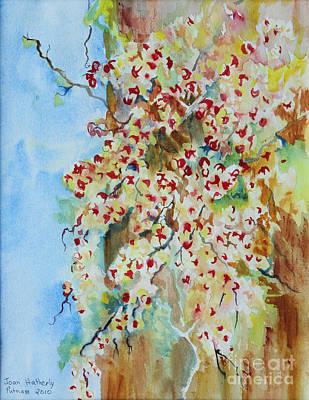 Bittersweet Tree Poster by Joan Putnam