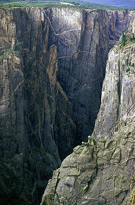 Black Canyon National Park Close View Poster