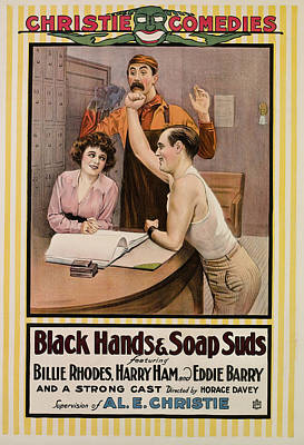 Black Hands And Soap Suds, From Left Poster