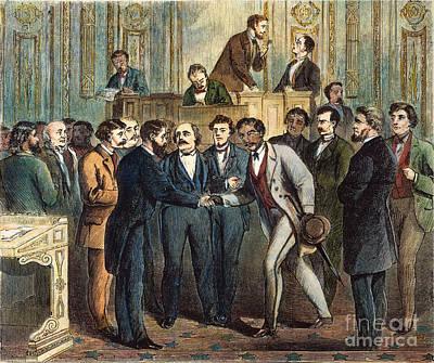 Black Representative, 1868 Poster