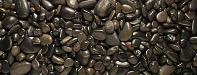 Black River Stones Landscape Poster