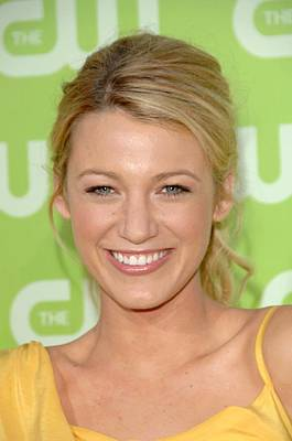 Blake Lively At Arrivals For The Cw Poster by Everett