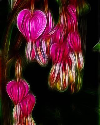 Bleeding Hearts  01 Poster by Paul Ward