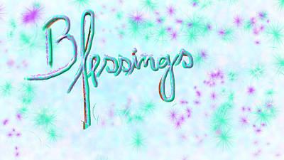 Blessings Poster