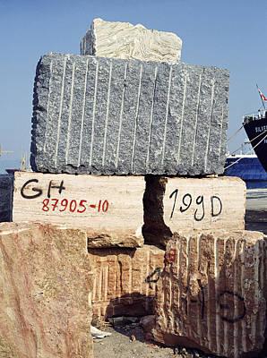 Blocks Of Dimension Stone Poster