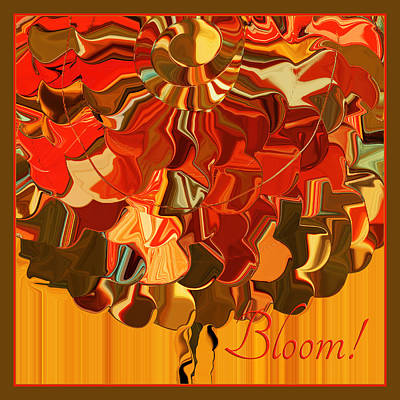 Bloom Poster by Bonnie Bruno