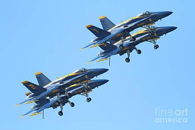 Blue Angels F-18 Super Hornet . 7d7978 Poster