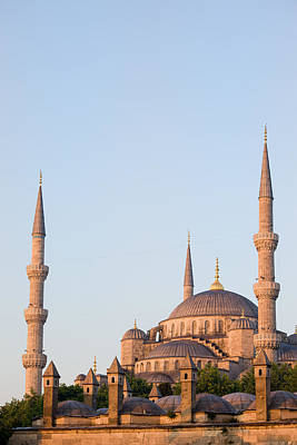 Blue Mosque In Istanbul Poster by Artur Bogacki