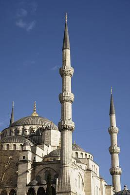 Blue Mosque Or Sultan Ahmet Camii Poster by Axiom Photographic