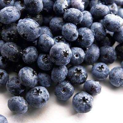 Blueberries Poster by Slivinski Photo