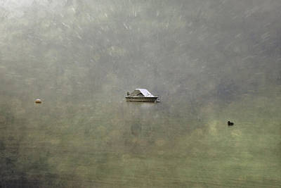 Boat In The Snow Poster by Joana Kruse