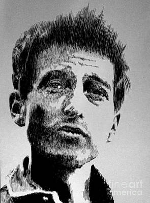 Bob Dylan Poster by Robbi  Musser