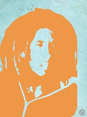 Bob Marley Yellow 2 Poster