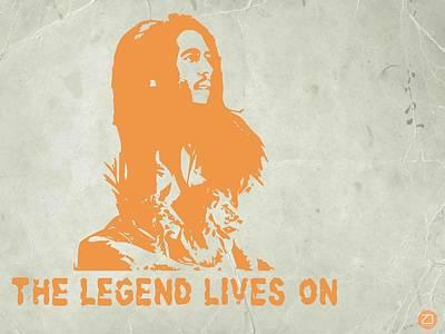 Bob Marley Yellow 4 Poster