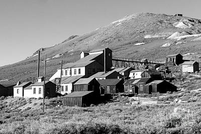 Poster featuring the photograph Bodie Ghost Town by Jim McCain