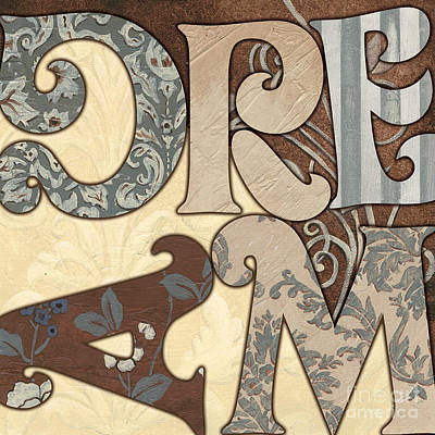 Bohemian Dream Poster by Debbie DeWitt