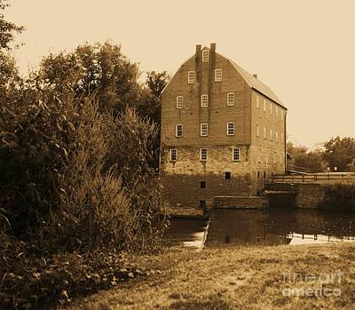 Bollinger Mill Poster by Julie Clements