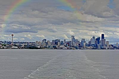 Bon Voyage Seattle Poster