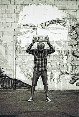 Boomboxx Chuck Poster by Ukeim Ortiz
