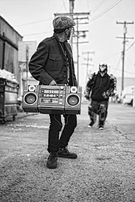 Boomboxx Chuck Vs Machinecore Poster by Ukeim Ortiz