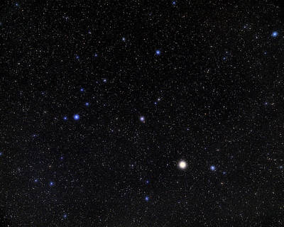 Bootes Constellation Poster