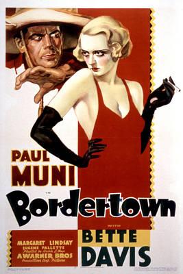 Bordertown, Paul Muni, Bette Davis Poster by Everett