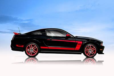 Boss Mustang Poster