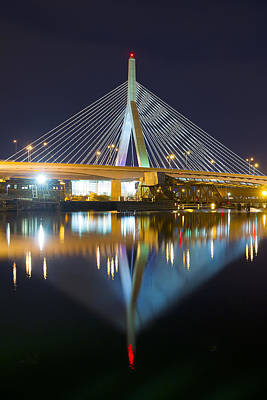 Boston Reflections Poster by Shane Psaltis