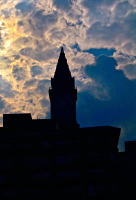 Boston Sky Poster