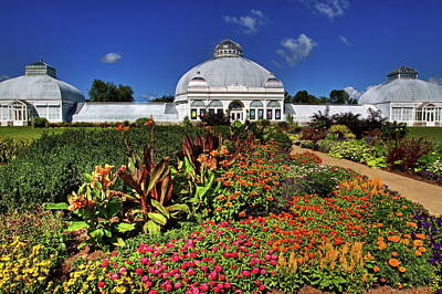 Poster featuring the photograph Botanical Botanical Gardens by Don Nieman