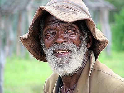 Botswanan Man Poster