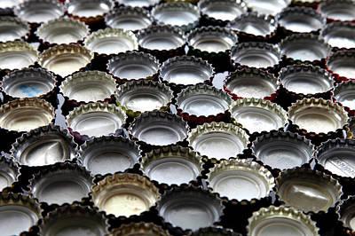Bottlecaps Poster by Shana Novak