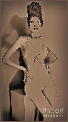 Boudoir Beauty Poster by Assie Schell