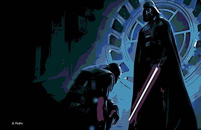 Bow To The Dark Side Poster