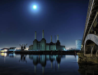 Bps By Moonlight Poster by Michael Murphy