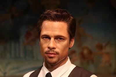 Brad Pitt - William Bradley Brad Pitt - Actor-  Poster by Lee Dos Santos