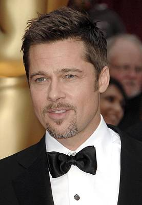 Brad Pitt At Arrivals For 81st Annual Poster