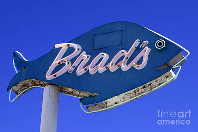 Poster featuring the photograph Brad's Fish by Denise Pohl